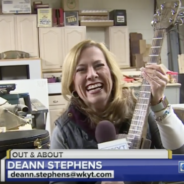 "WKYT ""Out and About"": Making Guitars from Bourbon Barrels"