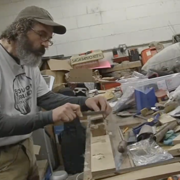 Lexington man's Bourbon Barrel Guitar Company combines love of music and bourbon