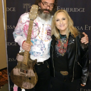 Melissa Etheridge Meets a Bourbon Barrel Guitar